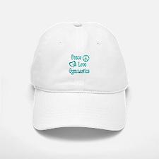 Peace Love Gymnastics Baseball Baseball Cap