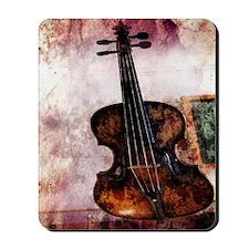 vintage violin Mousepad