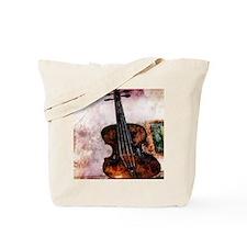 vintage violin Tote Bag