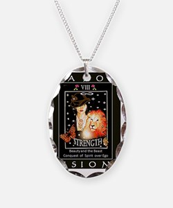 Tarot Visions - Strength  Necklace