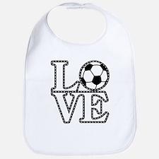 Love Soccer! Bib