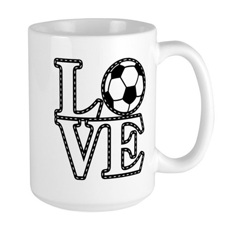 Love Soccer! Large Mug