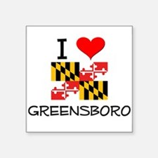 I Love Greensboro Maryland Sticker