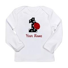 1 Ladybug ANY NAME! Long Sleeve T-Shirt