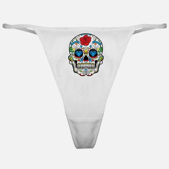 Dark Sugar Skull Classic Thong