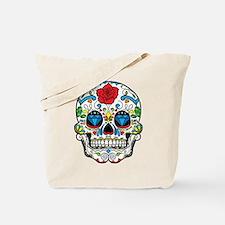 Dark Sugar Skull Tote Bag
