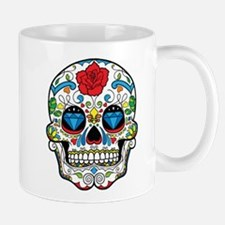 Dark Sugar Skull Mugs