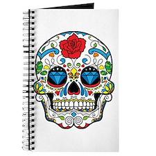 Dark Sugar Skull Journal