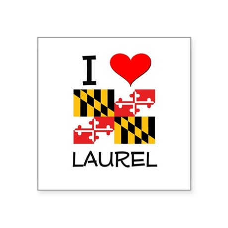 i love laurel maryland sticker by listing store 10501932