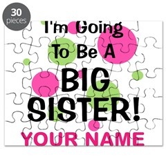 Big Sister - CUSTOMIZE ANY NAME Puzzle