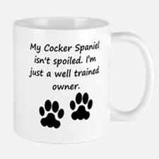 Well Trained Cocker Spaniel Owner Mugs