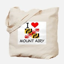 I Love Mount Airy Maryland Tote Bag