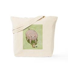 Glinda's Pig Woodhill Whiskers Tote Bag