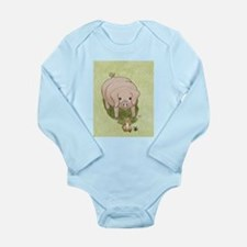Glinda's Pig Woodhill Whiskers Long Sleeve Infant