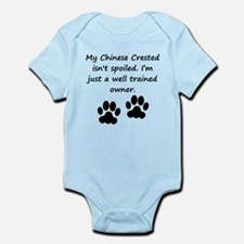 Well Trained Chinese Crested Owner Body Suit