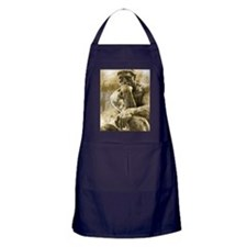 The thinker  Apron (dark)