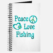 Peace Love Fishing Journal