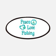 Peace Love Fishing Patches