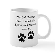Well Trained Bull Terrier Owner Mugs