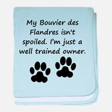 Well Trained Bouvier des Flandres Owner baby blank