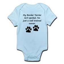 Well Trained Border Terrier Owner Body Suit