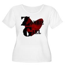 Zombie Girl Plus Size T-Shirt