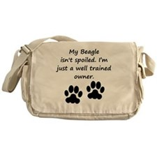 Well Trained Beagle Owner Messenger Bag