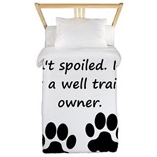 Well Trained Beagle Owner Twin Duvet