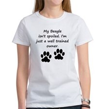 Well Trained Beagle Owner T-Shirt