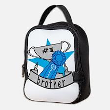 Worlds Best Brother Neoprene Lunch Bag