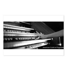 Funny Organist Postcards (Package of 8)