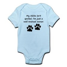 Well Trained Akita Owner Body Suit