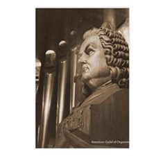 Cool Organist Postcards (Package of 8)