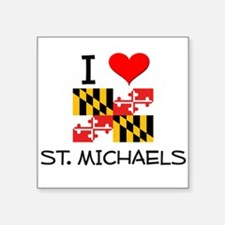 I Love St. Michaels Maryland Sticker