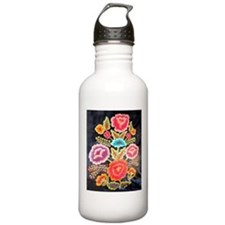 Mexican Embroidery Design Water Bottle