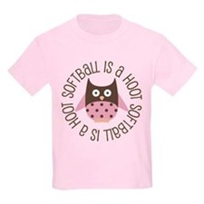 Softball Is A Hoot T-Shirt