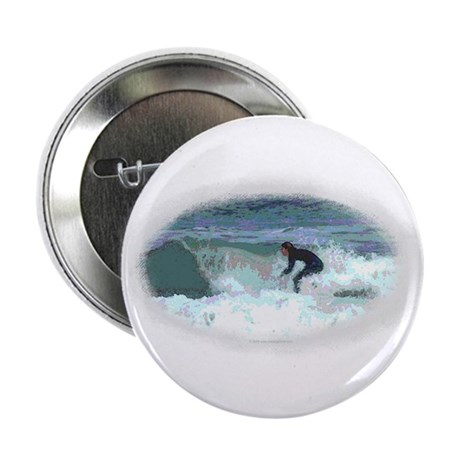"""Peter Max style Surfer 2.25"""" Button (10 pack)"""