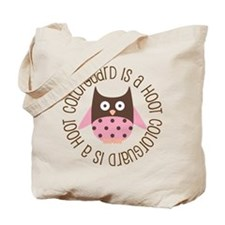 Colorguard Is A Hoot Tote Bag