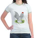 Self Blue Rooster Jr. Ringer T-Shirt