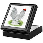Self Blue Rooster Keepsake Box