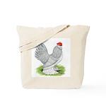 Self Blue Rooster Tote Bag