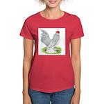Self Blue Rooster Women's Dark T-Shirt