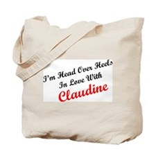 In Love with Claudine Tote Bag