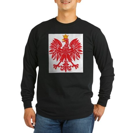 Polish Eagle v5 Long Sleeve Dark T-Shirt