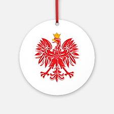 Polish Eagle v5 Ornament (Round)