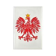 Polish Eagle v5 Rectangle Magnet