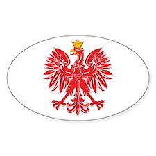 Polish Eagle v5 Oval Decal