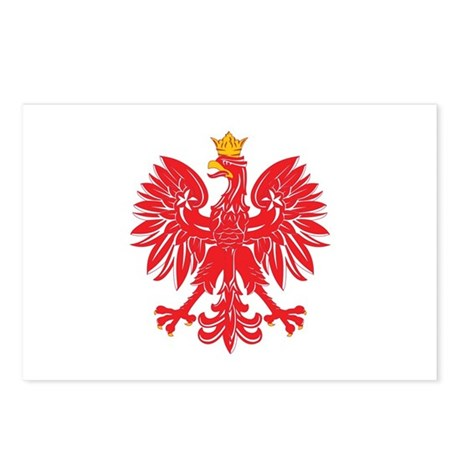Polish Eagle v5 Postcards (Package of 8)