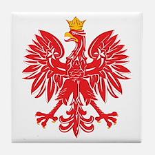 Polish Eagle v5 Tile Coaster