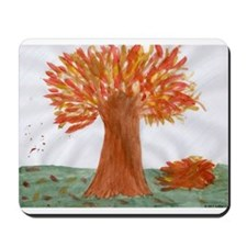 Autumn Tree Mousepad